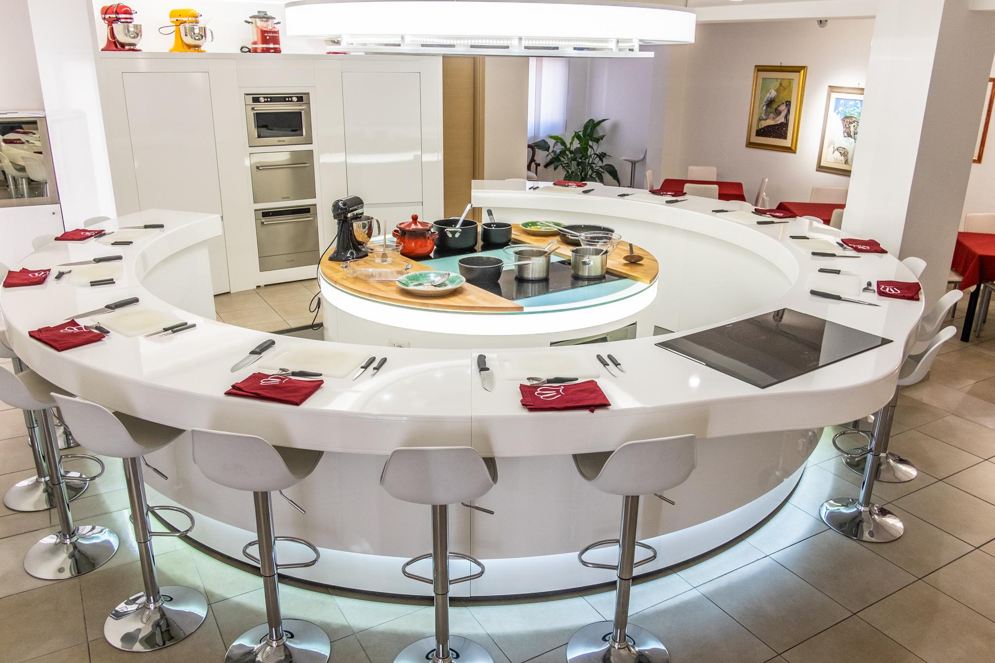 Myda Scuola di Cucina Piano Lavoro